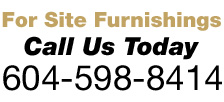 Vancouver Commercial Site Furnishings